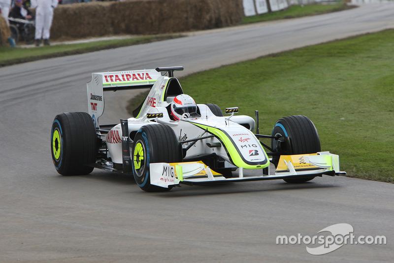 Martin Brundle, Brawn Mercedes BGP 001