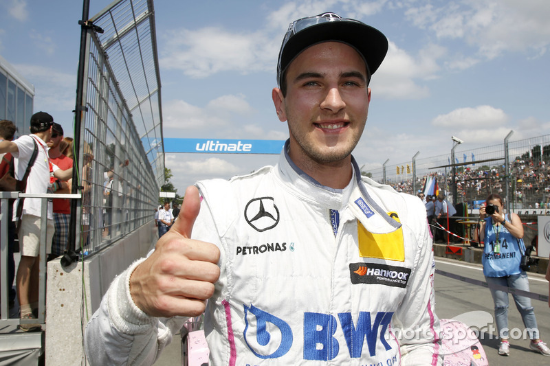 Pole pozisyonu: Christian Vietoris, Mercedes-AMG Team Mücke, Mercedes-AMG C63 DTM