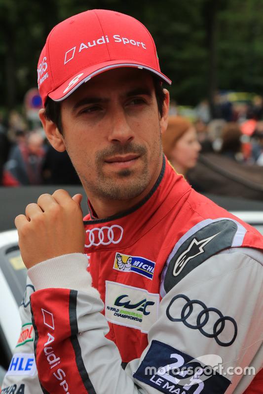 #8 Audi Sport Team Joest Audi R18: Lucas di Grassi