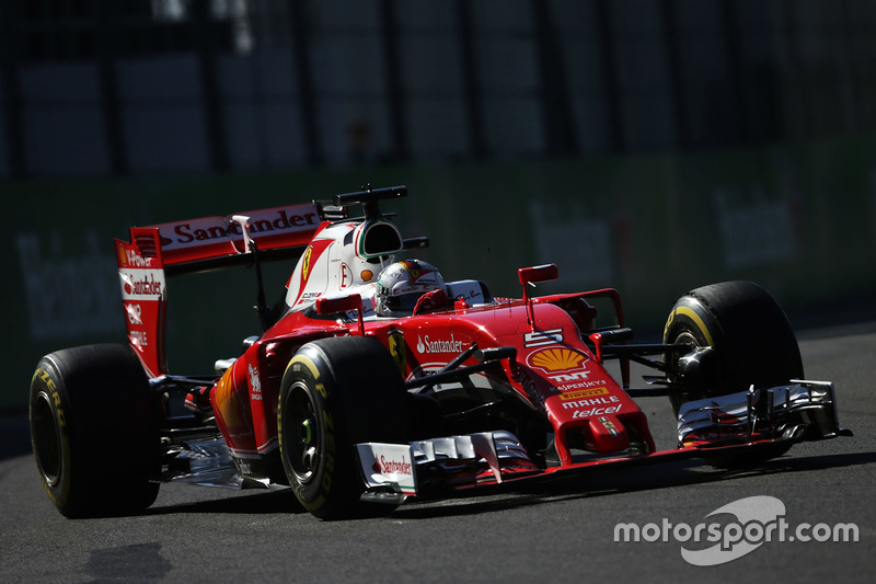 7: Sebastian Vettel, Ferrari SF16-H
