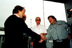 Luca Di Montezemolo, Ferrari félicite Norbert Haug, Mercedes