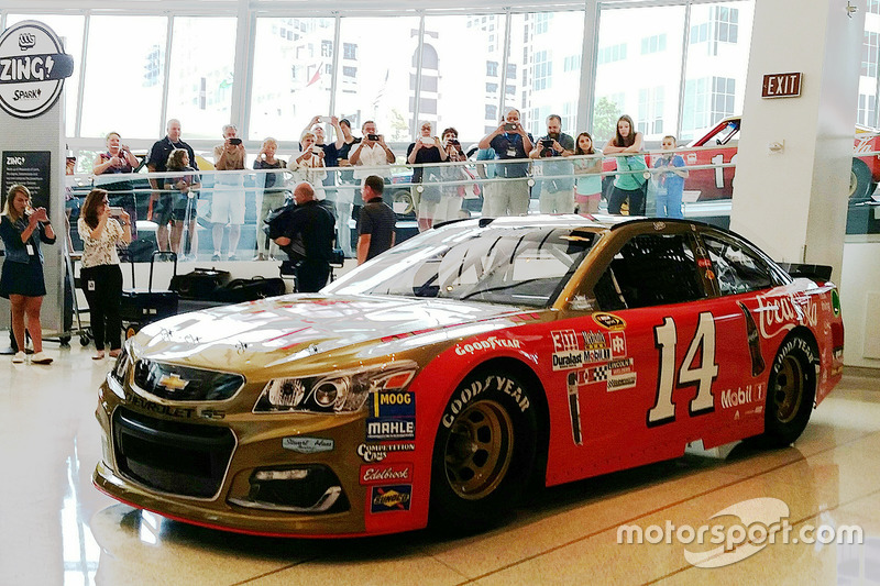 Throwback-Design von Tony Stewart, Stewart-Haas Racing, Chevrolet