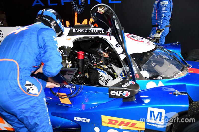 #35 Baxi DC Racing Alpine A460 - Nissan: David Cheng