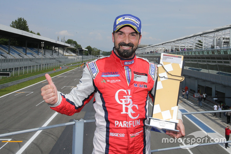 Marco Cassarà vittorioso in Gara 1 a Monza nella Michelin Cup