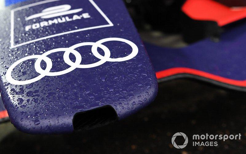 Nosecone on the Envision Virgin Racing, Audi e-tron FE05