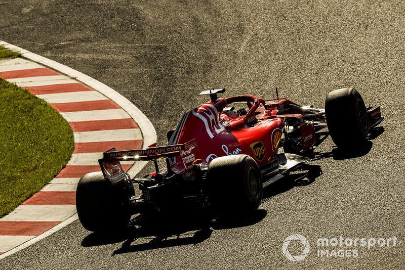 P6: Sebastian Vettel, Ferrari SF71H