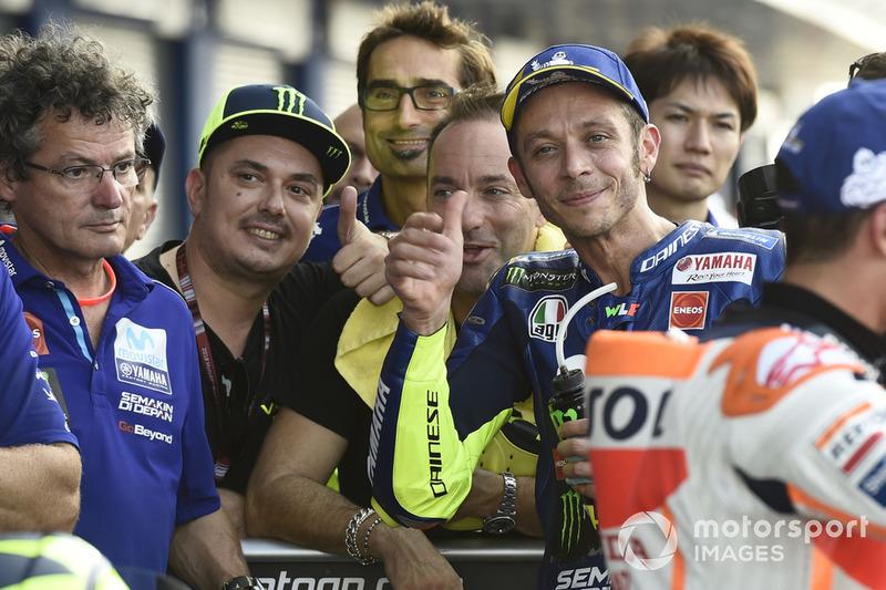 Valentino Rossi, Yamaha Factory Racing segundo clasificación