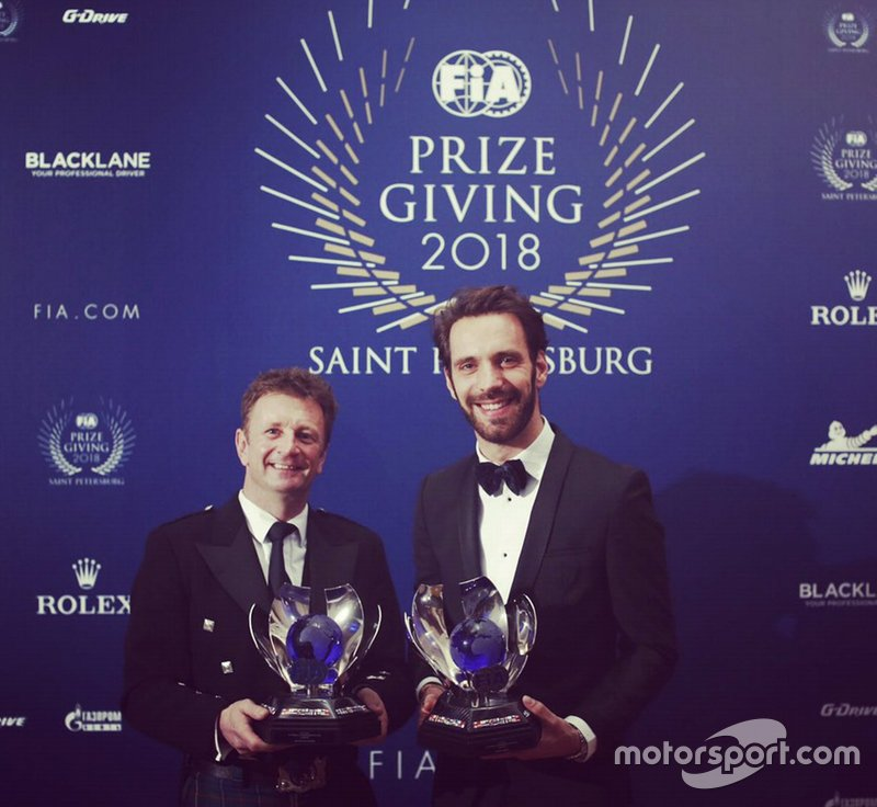 FIA Formula E Championship 2017 - 2018: Jean-Éric Vergne (Driver) and Audi Sport ABT Schäffler (Team)