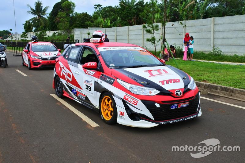 All New Toyota Yaris, Haridarma Manoppo, Toyota Team Indonesia