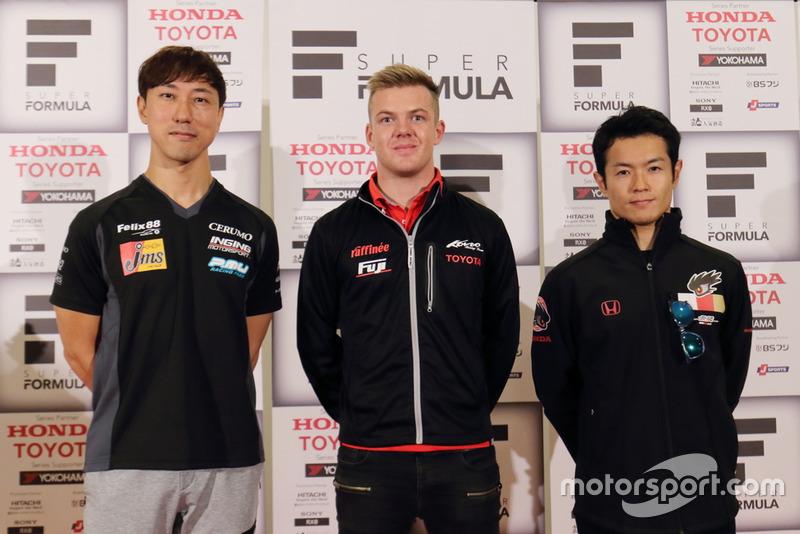 (Ki-ka): Hiroaki Ishiura(JMS P.MU / CERUMO・INGING), Nick Cassidy, (KONDO RACING), Naoki Yamamoto(TEAM MUGEN)