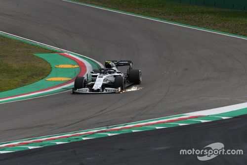 Tsunoda Imola January testing