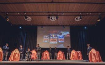 KTM Team launch presentation