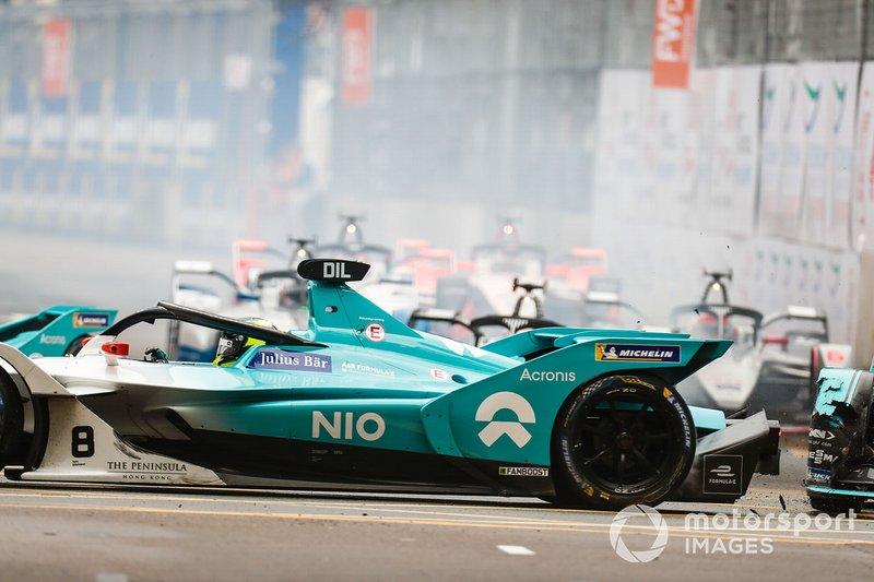 Нельсон Піке, Panasonic Jaguar Racing, Jaguar I-Type 3, Том Дільман, NIO Formula E Team, NIO Sport 004