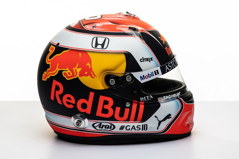 Новый шлем Пьера Гасли