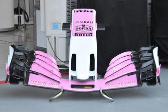Racing Point Force India voorvleugel detail