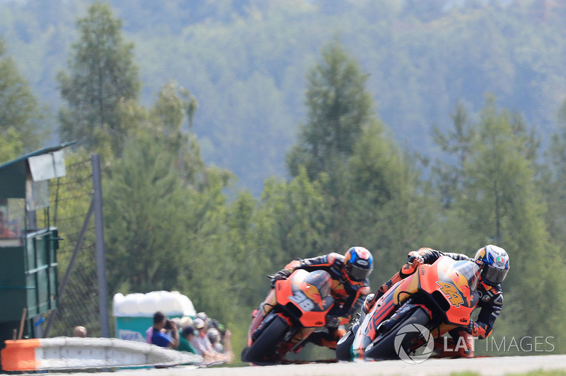 Bradley Smith, Pol Espargaro, Red Bull KTM Factory Racing