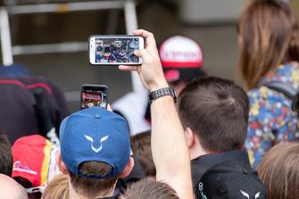 #8 Toyota Gazoo Racing Toyota TS050: Fernando Alonso e dei tifosi