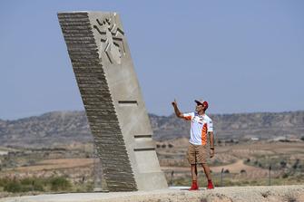 Inauguration du virage Marc Márquez