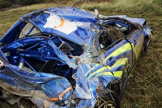 Petter Solberg, Phil Mills, Subaru Impreza, kazalı araç