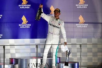 Lewis Hamilton, Mercedes AMG F1 celebra