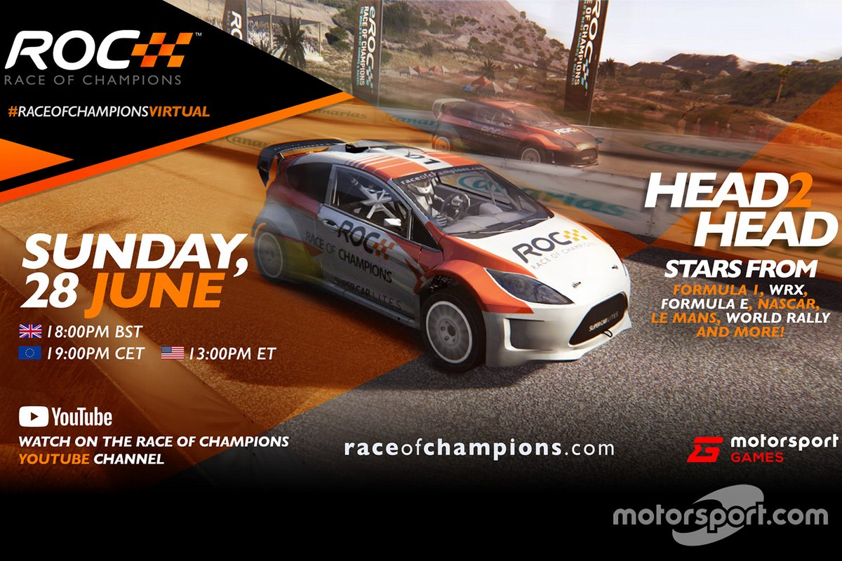 Virtual Race of Champions poster