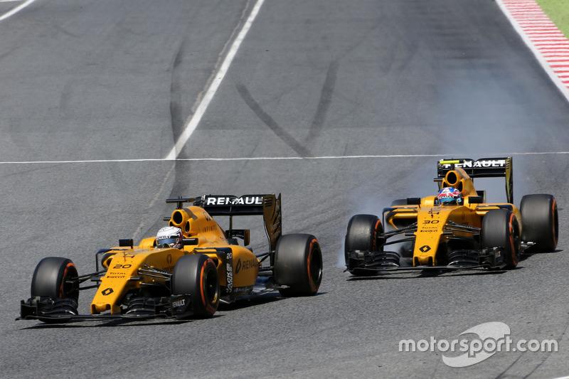 Kevin Magnussen, Renault Sport F1 Team und Jolyon Palmer, Renault Sport F1 Team