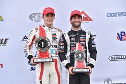 Race winner Santiago Urrutia, Schmidt Peterson Motorsports, third place André Negrao, Schmidt Peterson Motorsports