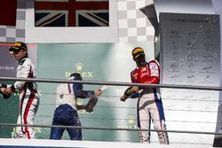Antonio Fuoco, Trident, Nyck De Vries, ART Grand Prix and Matthew Parry, Koiranen GP
