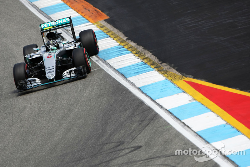 Deutschland, Hockenheim: Nico Rosberg (Mercedes)