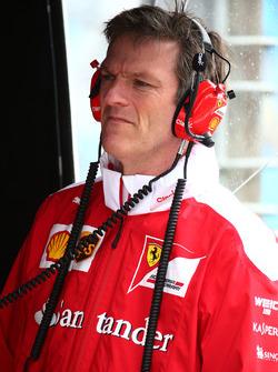 Технічний директор Ferrari Джеймс Еллісон