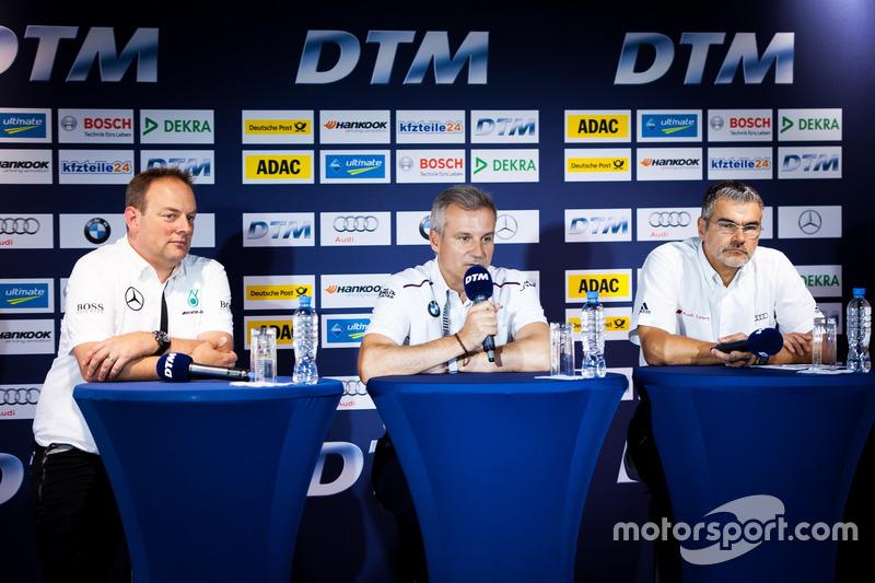Conferenza stampa: Ullrich Fritz, Team Principal Mercedes-AMG HWA; Jens Marquardt, Direttore BMW Mot