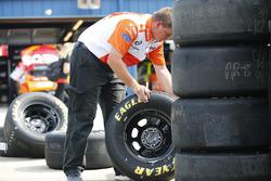 Goodyear-Reifen für Kyle Larson, Chip Ganassi Racing, Chevrolet