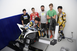 Teilnehmer des Yamaha VR46 Master Camps