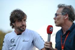 Fernando Alonso, McLaren con Jacques Villeneuve