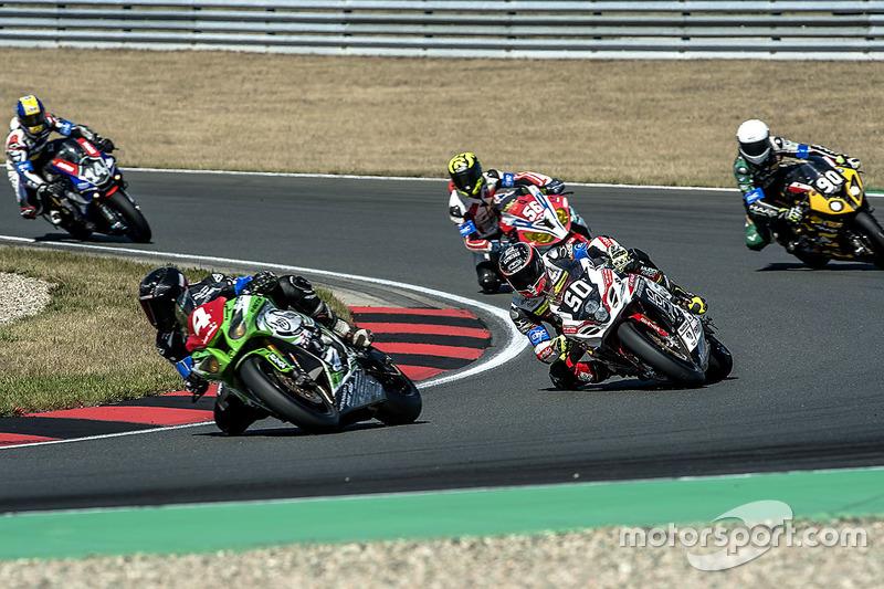 #4, #50, Team April Moto Motors Events, Suzuki: Gregg Black, Gregory Fastre, Alex Cudlin