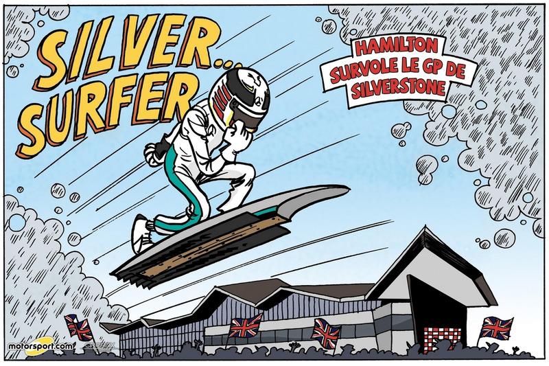 GP de Grande-Bretagne - Silver... Surfer