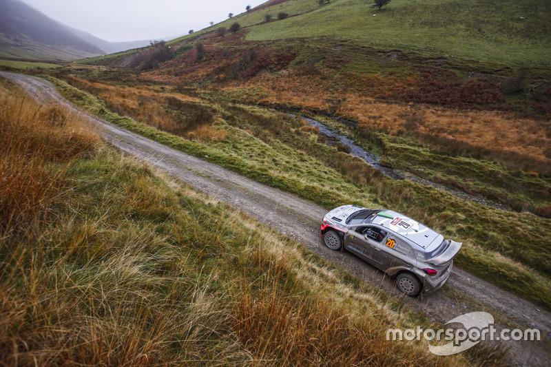 8. Hayden Paddon, John Kennard, Hyundai i20 WRC, Hyundai Motorsport