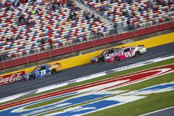 Daniel Suarez, Joe Gibbs Racing Toyota, Erik Jones, Joe Gibbs Racing Toyota, Kevin Harvick, JR Motorsports Chevrolet