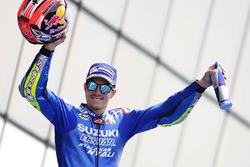 Podium: 3e plaats Maverick Viñales, Team Suzuki MotoGP