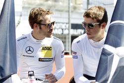 Maximilian Götz, Mercedes-AMG Team HWA, Mercedes-AMG C63 DTM, und Paul Di Resta, Mercedes-AMG Team H