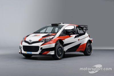 Toyota WRC görünümü