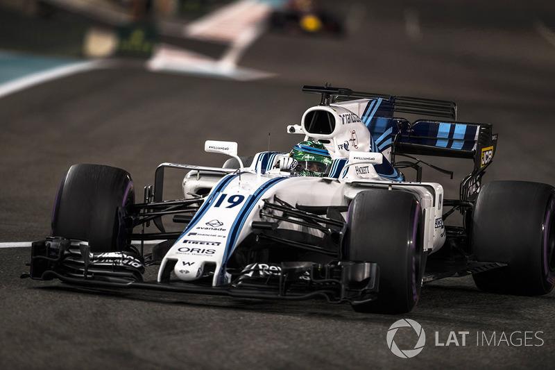 Será a 269ª e última prova de Massa na Fórmula 1. O piloto estreou em 2002 e conquistou 11 vitórias, 16 poles, 41 pódios e 15 voltas mais rápidas.