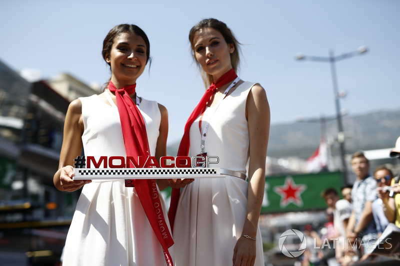 Monaco GP girls
