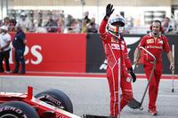 Il terzo qualificato Sebastian Vettel, Ferrari SF70H