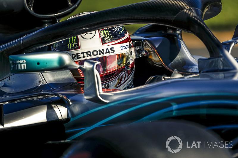 Para Lewis Hamilton, Halo dificulta identificação dos pilotos