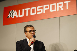 A guest talks to Henry Hope-Frost on the Autosport Stage