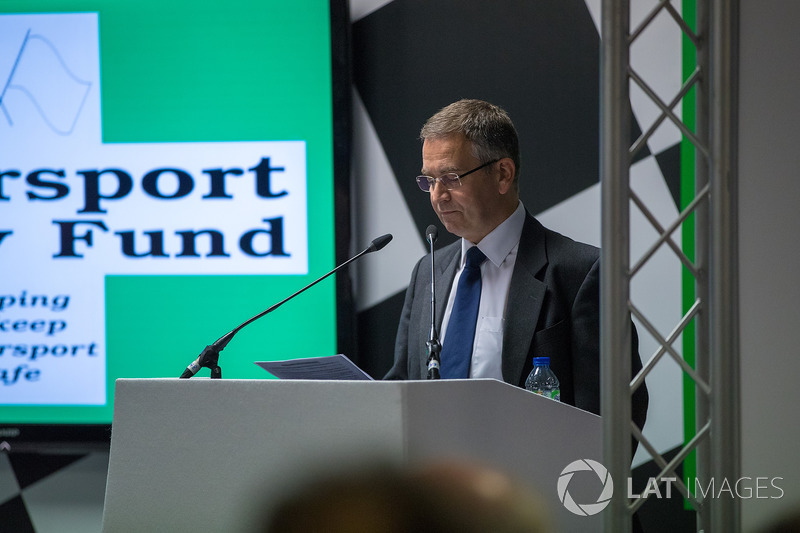21st Watkins Lecture at Autosport International, presented by David Richards CBE
