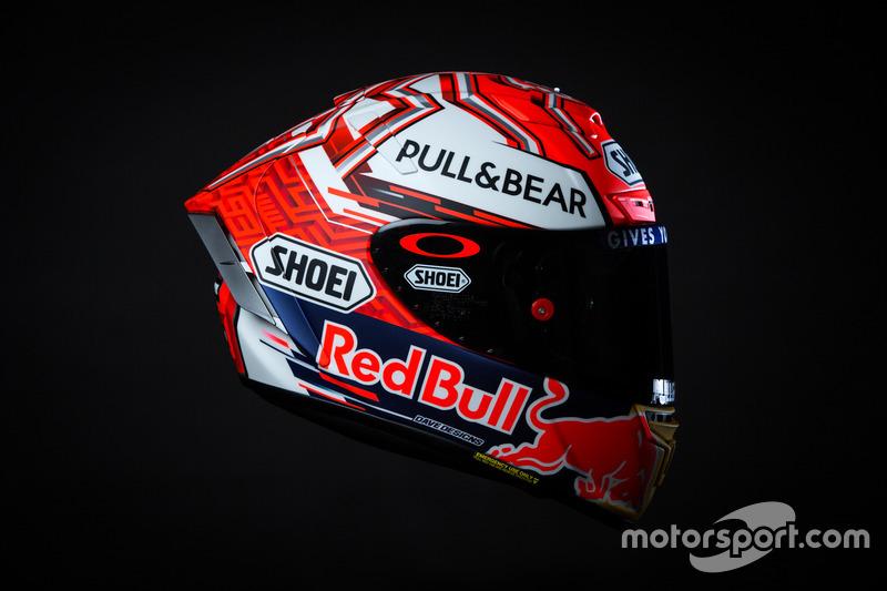 Casque de Marc Márquez, Repsol Honda Team
