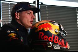Max Verstappen, Red Bull Racing avec son casque