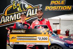 Pole position for Matthew Campbell, Shane van Gisbergen, Triple Eight Race Engineering Holden
